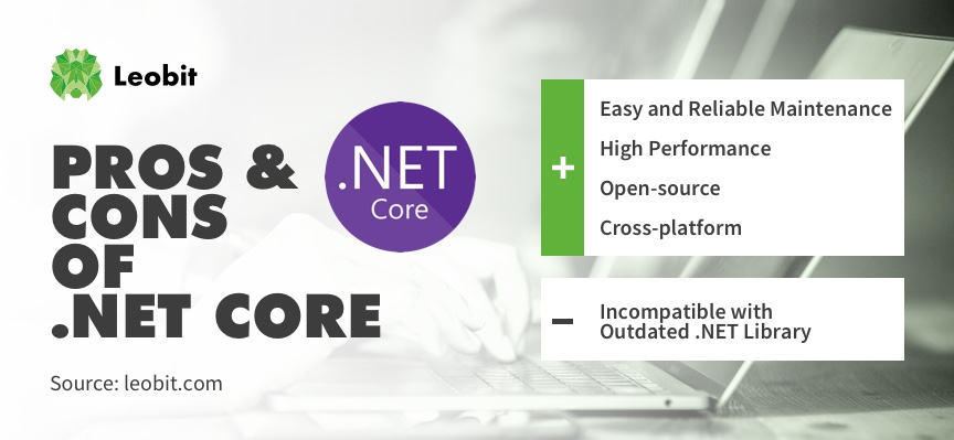 Pros and cons of dot net core framework