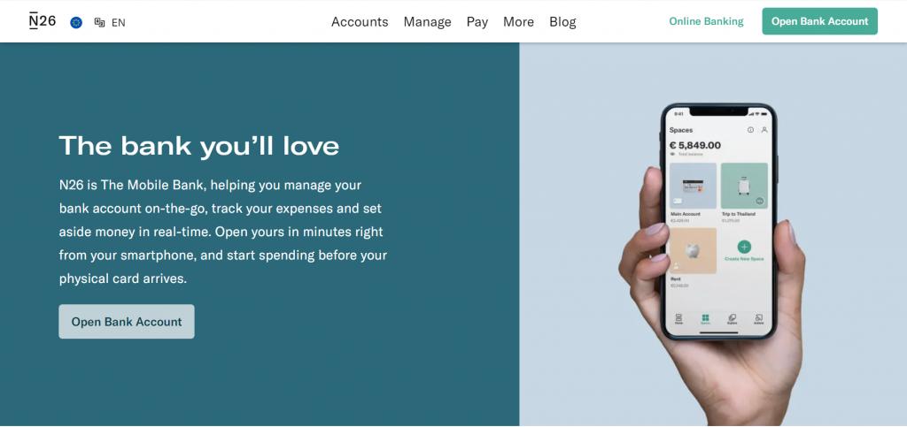 top mobile bank startup