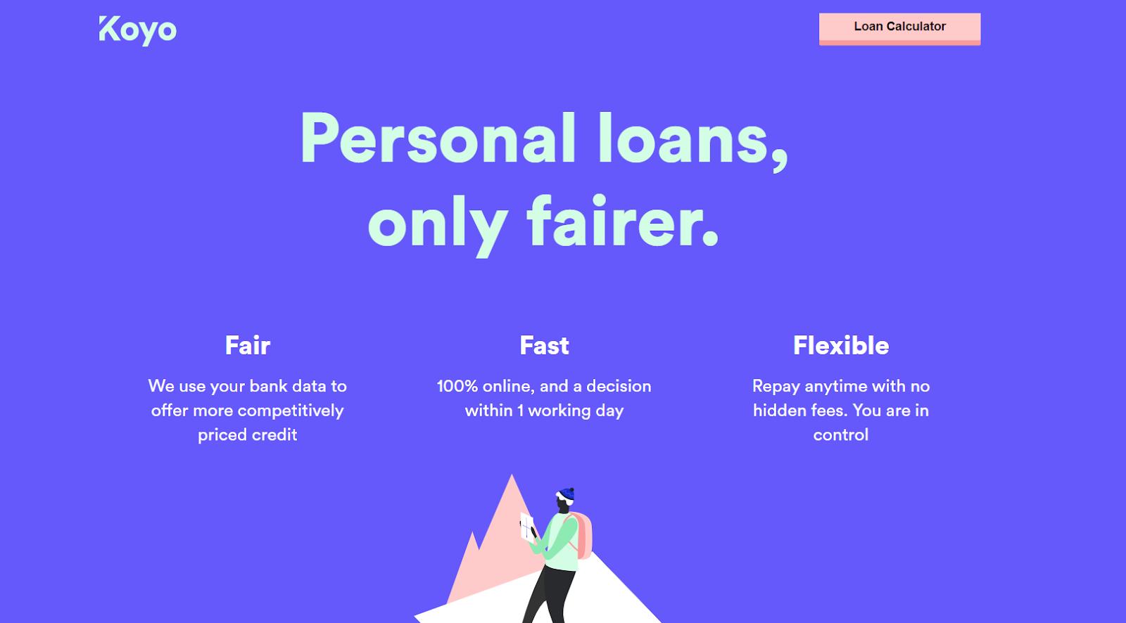Koyo personal loans