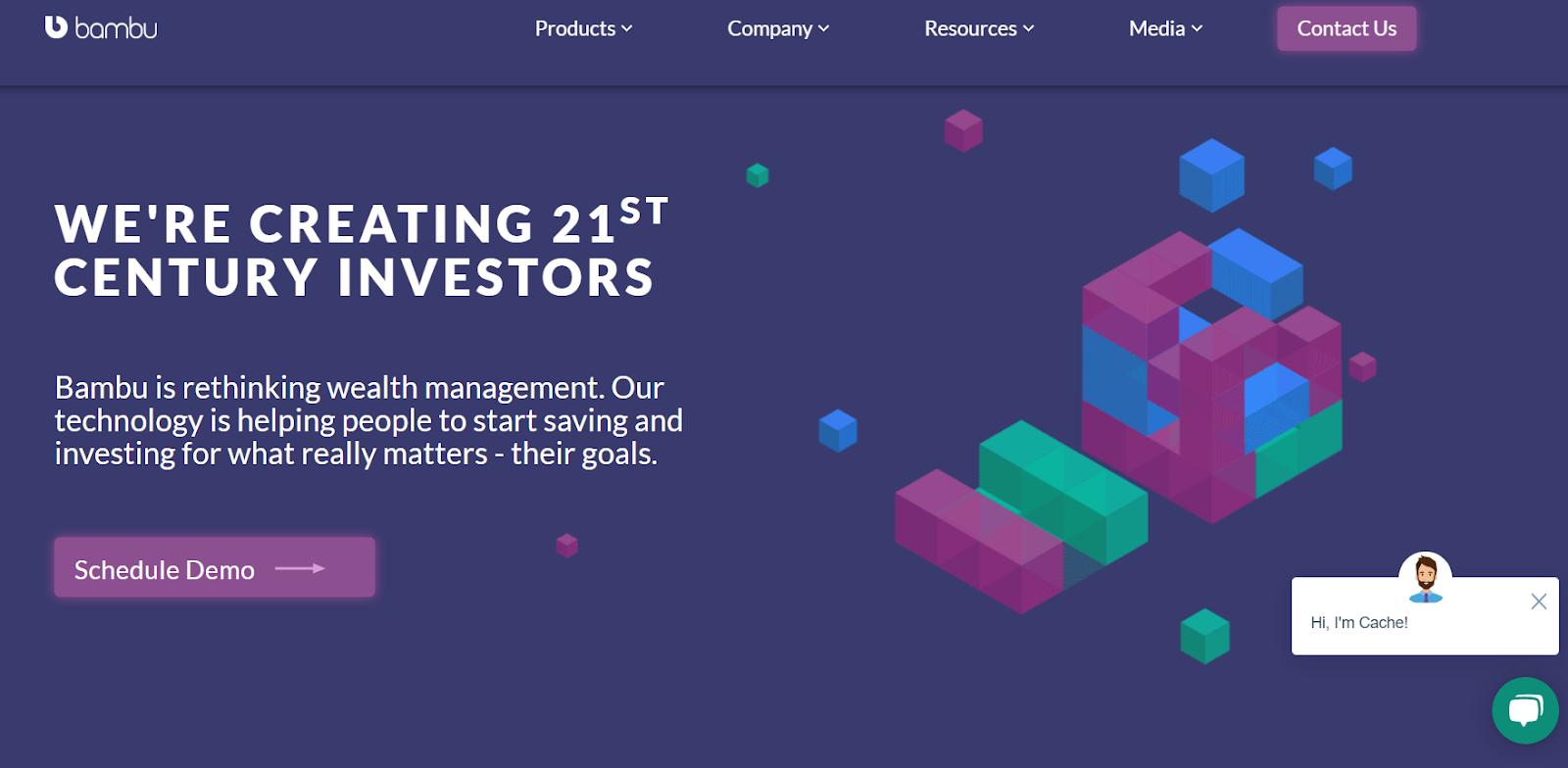 Bambu B2B wealth management