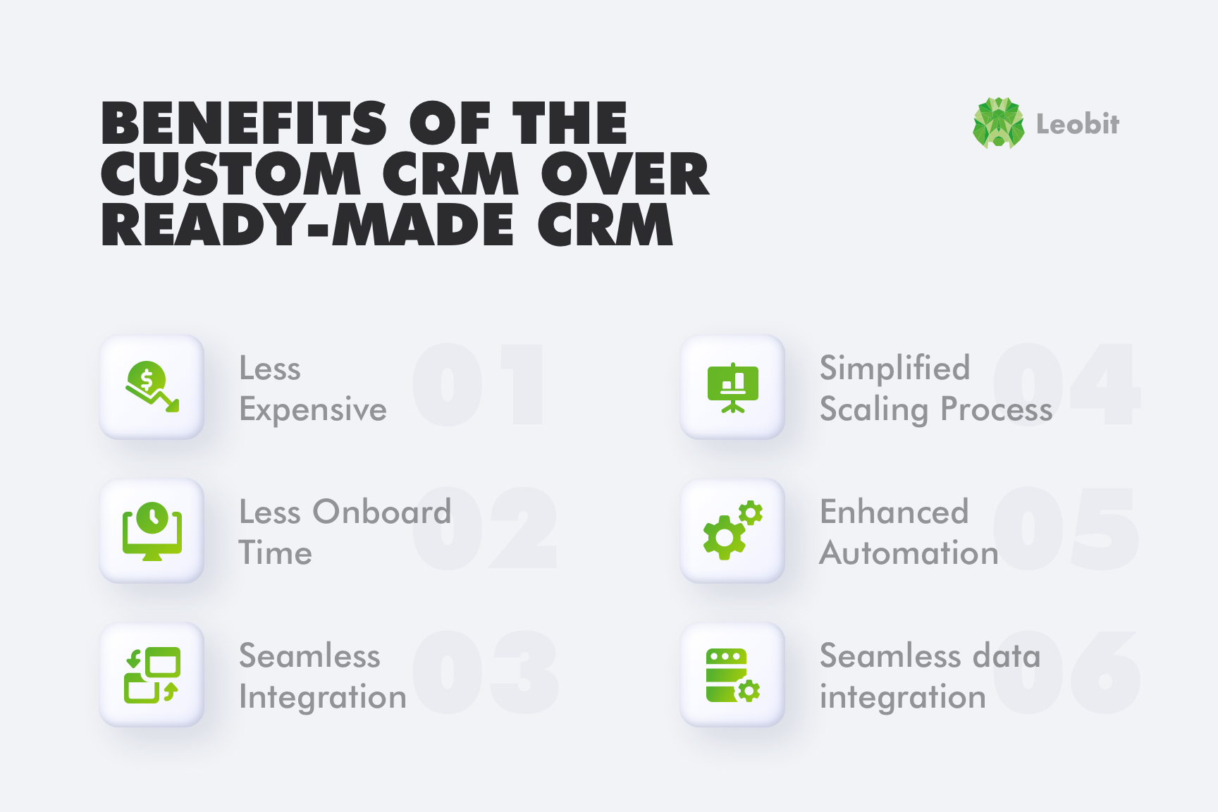 Сustom CRM benefits